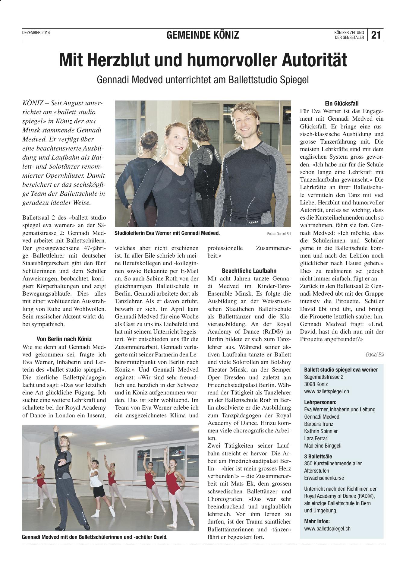 Koenizer_Zeitung_Dez14_Medved_Gennadi_Ballett