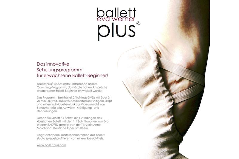 DVD-SET ballett plus